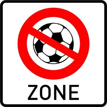 *** Fußballfreie Zone ***
