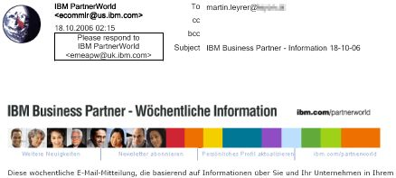 E-Mail Ausdruck Lotus Notes