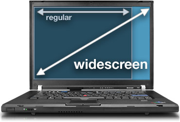 Widescreen vs. Regular