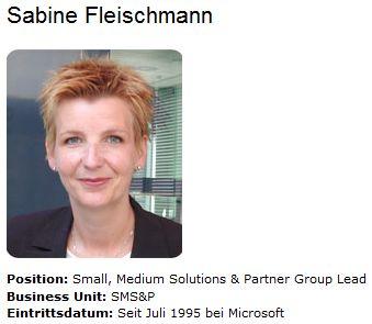 Sabine Fleischmann @ Microsoft