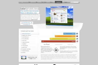 Safari Windows Homepage
