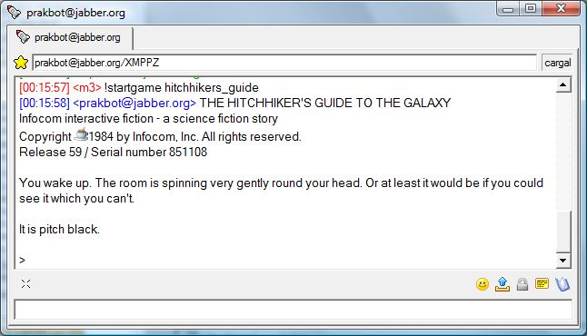 The Hitchhiker's Guide to the Galaxy inside Psi