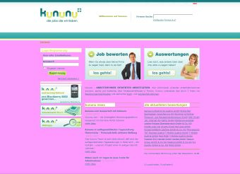 Screenshot kununu.com