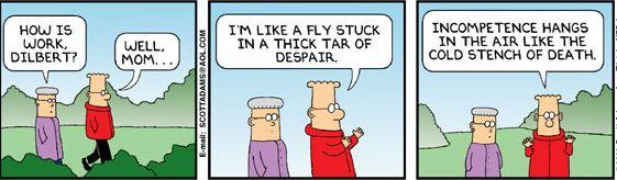 Cartoon: How is work?