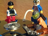 Festplatten-Tuning mit Lego