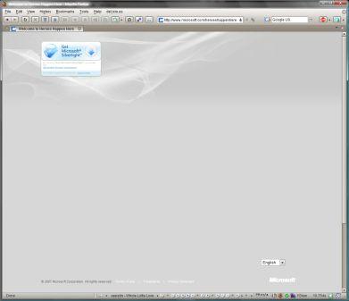 Screenshot Heroes Happen Here Website
