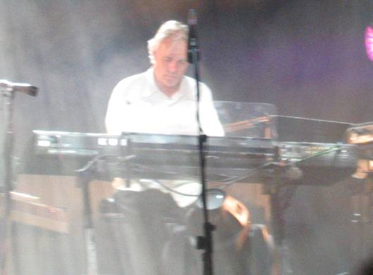 Rick Wright playing at Burg Clam, Austria in 2006