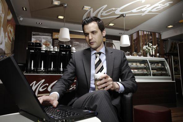 W-LAN in allen McDonald's Restaurants 01