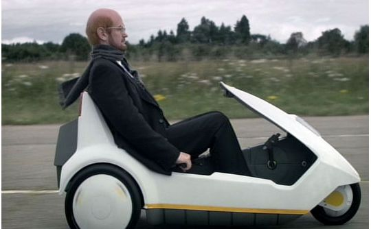 Alexander Armstrong as Sir Clive Sinclair