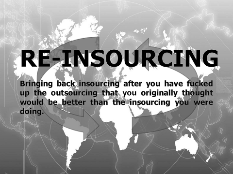 re-insourcing